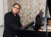 Phil at piano